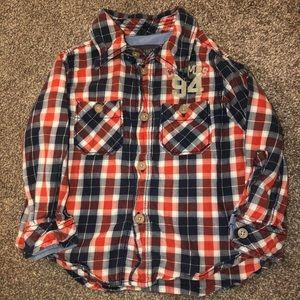 Boys 12 month button up shirt